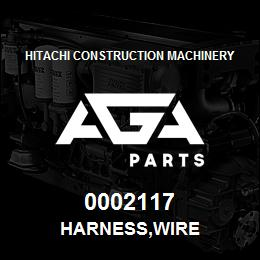 0002117 Hitachi HARNESS,WIRE | AGA Parts