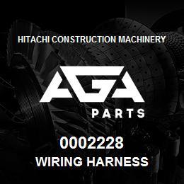 0002228 Hitachi WIRING HARNESS | AGA Parts