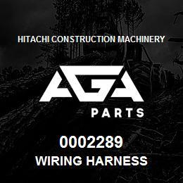 0002289 Hitachi WIRING HARNESS | AGA Parts