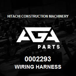 0002293 Hitachi Wiring Harness | AGA Parts