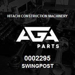 0002295 Hitachi SWINGPOST | AGA Parts
