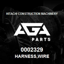 0002329 Hitachi HARNESS,WIRE | AGA Parts