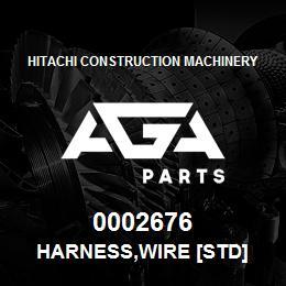 0002676 Hitachi HARNESS,WIRE [STD] | AGA Parts