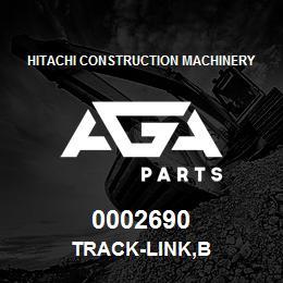 0002690 Hitachi TRACK-LINK,B | AGA Parts