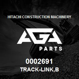0002691 Hitachi TRACK-LINK,B | AGA Parts