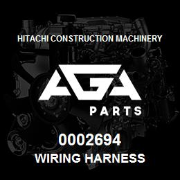 0002694 Hitachi WIRING HARNESS | AGA Parts