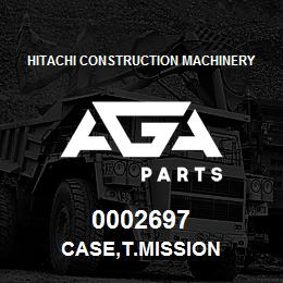 0002697 Hitachi CASE,T.MISSION | AGA Parts