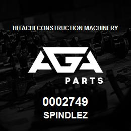 0002749 Hitachi SPINDLEZ | AGA Parts
