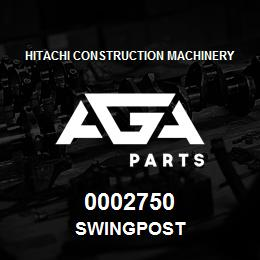 0002750 Hitachi SWINGPOST | AGA Parts