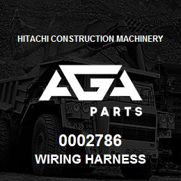 0002786 Hitachi WIRING HARNESS | AGA Parts