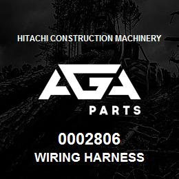 0002806 Hitachi WIRING HARNESS | AGA Parts