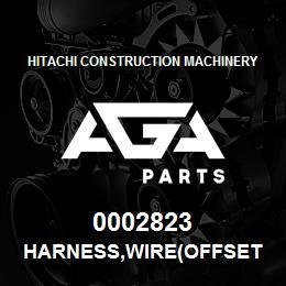 0002823 Hitachi HARNESS,WIRE(OFFSET BOOM) | AGA Parts