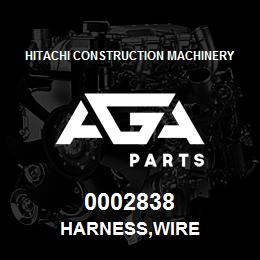 0002838 Hitachi HARNESS,WIRE | AGA Parts