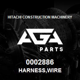 0002886 Hitachi HARNESS,WIRE | AGA Parts