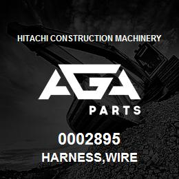 0002895 Hitachi HARNESS,WIRE | AGA Parts
