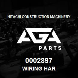 0002897 Hitachi WIRING HAR | AGA Parts