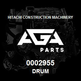 0002955 Hitachi DRUM | AGA Parts