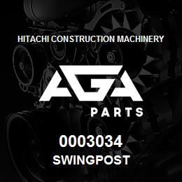 0003034 Hitachi SWINGPOST | AGA Parts