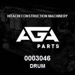 0003046 Hitachi DRUM | AGA Parts