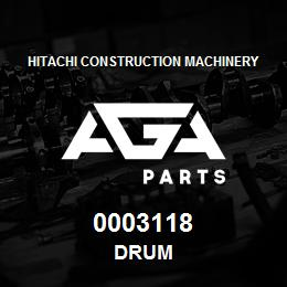 0003118 Hitachi DRUM | AGA Parts