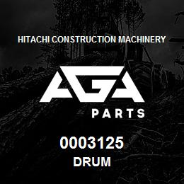 0003125 Hitachi DRUM | AGA Parts