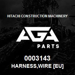 0003143 Hitachi HARNESS,WIRE [EU] | AGA Parts