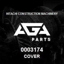 0003174 Hitachi COVER | AGA Parts