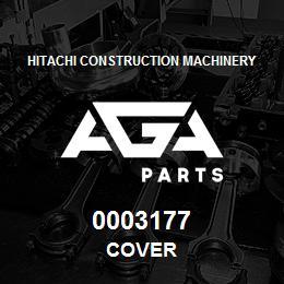 0003177 Hitachi COVER | AGA Parts