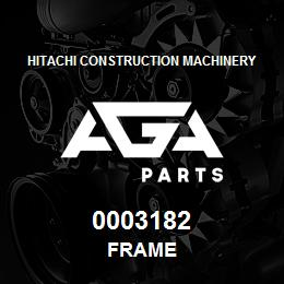 0003182 Hitachi Frame | AGA Parts