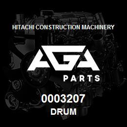 0003207 Hitachi DRUM | AGA Parts