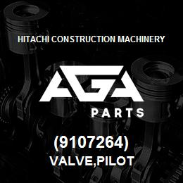 (9107264) Hitachi Construction Machinery VALVE,PILOT | AGA Parts