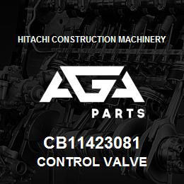CB11423081 Hitachi Construction Machinery CONTROL VALVE | AGA Parts