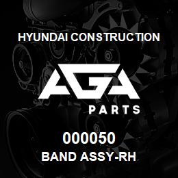 000050 Hyundai Construction BAND ASSY-RH | AGA Parts