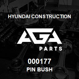 000177 Hyundai Construction PIN BUSH | AGA Parts