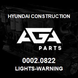 0002.0822 Hyundai Construction LIGHTS-WARNING | AGA Parts