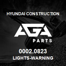 0002.0823 Hyundai Construction LIGHTS-WARNING | AGA Parts