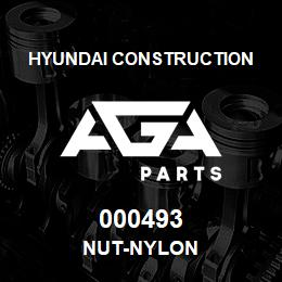000493 Hyundai Construction NUT-NYLON | AGA Parts