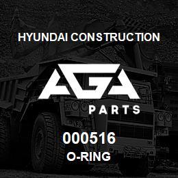 000516 Hyundai Construction O-RING | AGA Parts