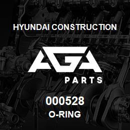 000528 Hyundai Construction O-RING | AGA Parts