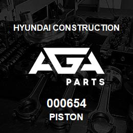 000654 Hyundai Construction PISTON | AGA Parts