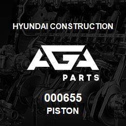 000655 Hyundai Construction PISTON | AGA Parts