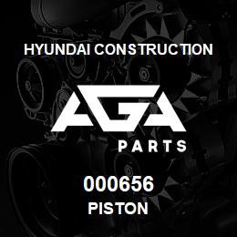 000656 Hyundai Construction PISTON | AGA Parts