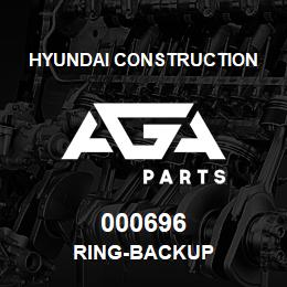 000696 Hyundai Construction RING-BACKUP | AGA Parts