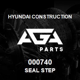 000740 Hyundai Construction SEAL STEP | AGA Parts
