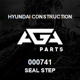000741 Hyundai Construction SEAL STEP | AGA Parts