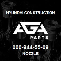 000-944-55-09 Hyundai Construction NOZZLE | AGA Parts
