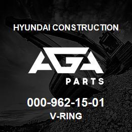 000-962-15-01 Hyundai Construction V-RING | AGA Parts