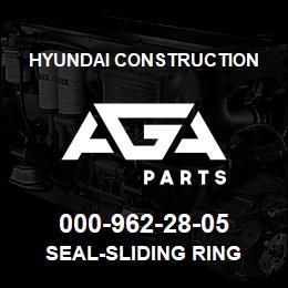 000-962-28-05 Hyundai Construction SEAL-SLIDING RING | AGA Parts