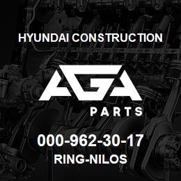 000-962-30-17 Hyundai Construction RING-NILOS   AGA Parts
