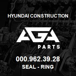 000.962.39.28 Hyundai Construction SEAL - RING | AGA Parts